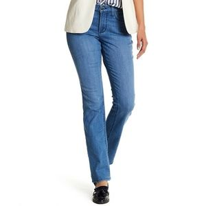 NYDJ Haley Stretch Straight Leg Jeans